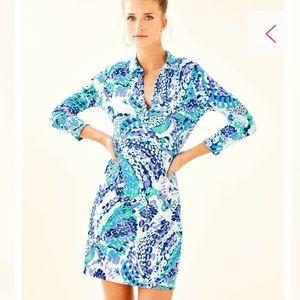Lily Pulitzer upf 50+ Ansley polo dress
